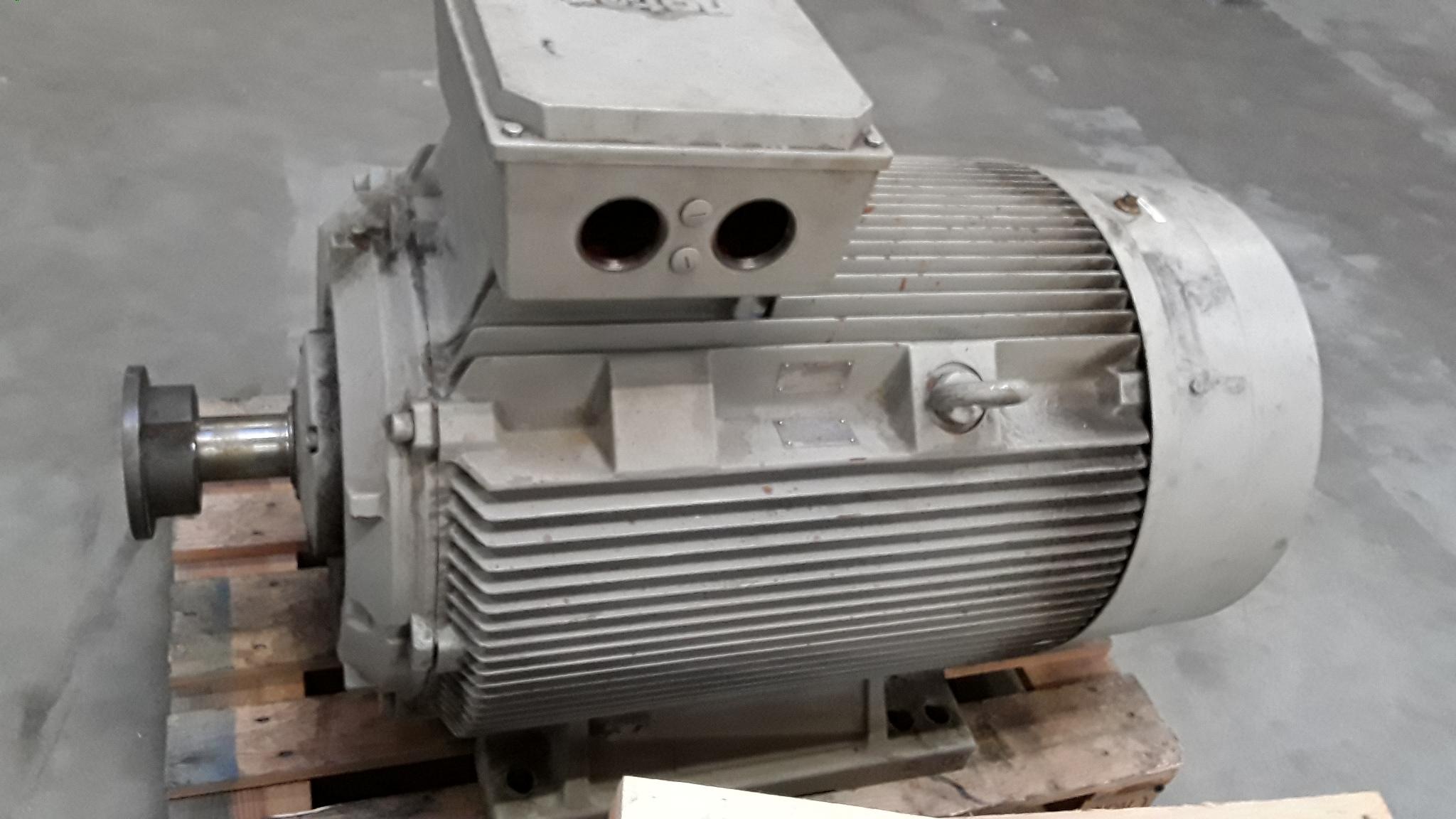 Oude elektromotor